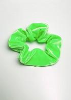 Hårband klargrön velour