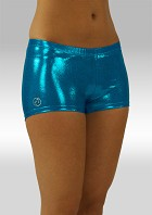 Hotpants turkos wetlook O758tu